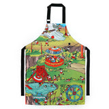 'Children at Play' apron