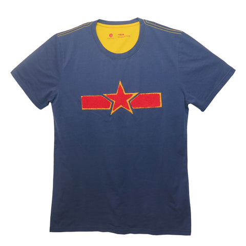 'Chinese Air Force' T-Shirt (Blue) - Goods of Desire