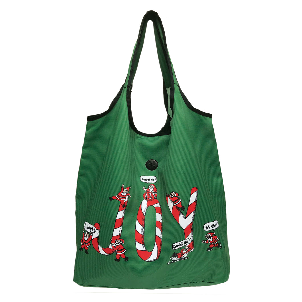 'Hohoho Joy' Foldable Shopping Bag