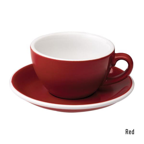 Loveramics Egg 200ml saucer (red)