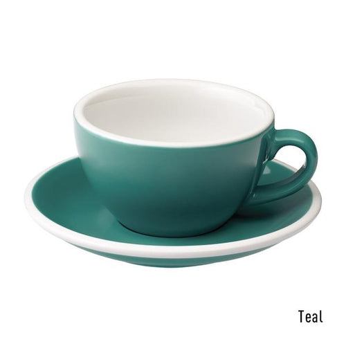 Loveramics Egg 200ml cappuccino cup (teal)