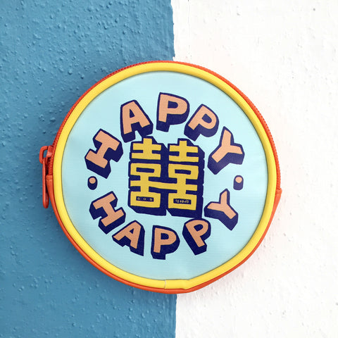 'Double Happiness' coin purse