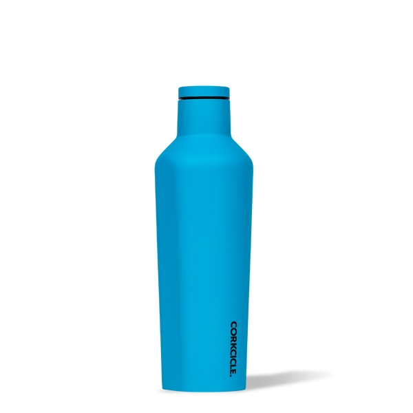 Corkcicle Neon Lights Canteen 475ml, Neon Blue