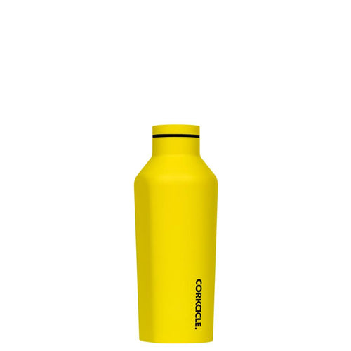 Corkcicle Neon Lights Canteen 270ml, Neon Yellow