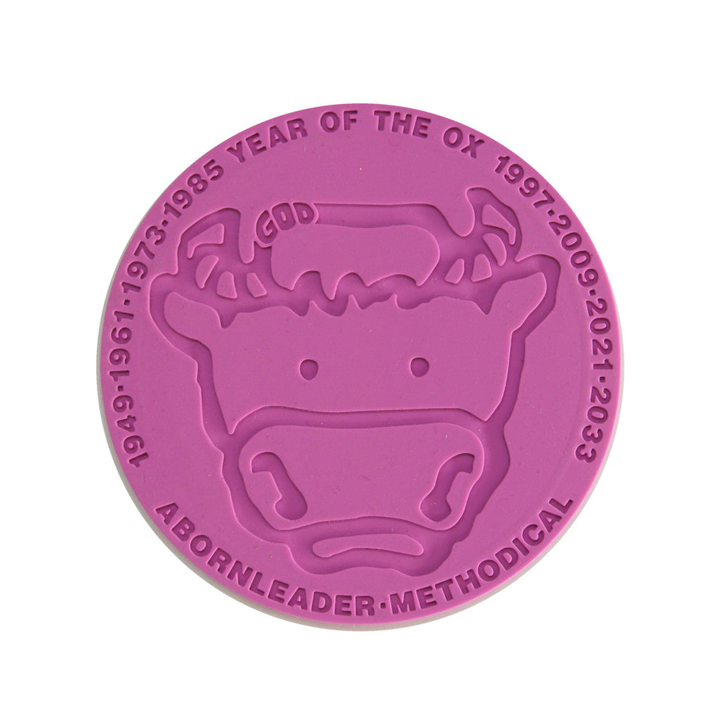 'Chinese Zodiac Cow' coaster