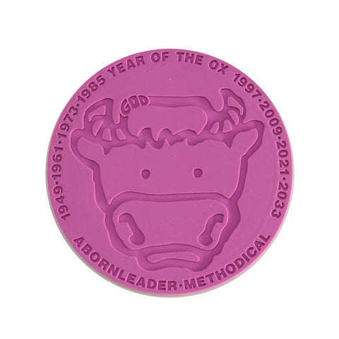 'Chinese Zodiac Cow' coaster - Goods of Desire
