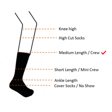 Load image into Gallery viewer, Playful Socks, Black
