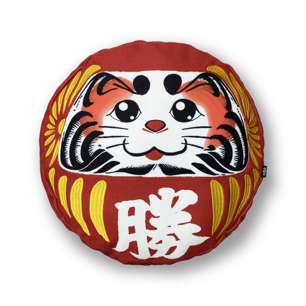 WINNING CAT Round Cushion with Filling