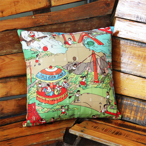 'Children at Play' cushion cover (45 x 45 cm)