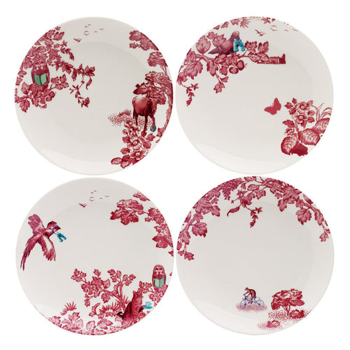 A Curious Toile Salad Plate Set by Loveramics, 21 cm