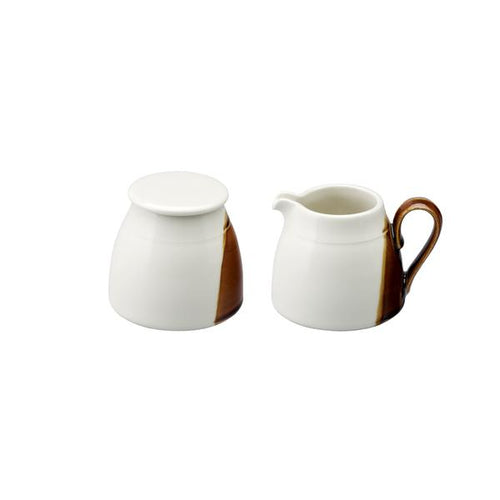 Sancai Sugar Pot and Creamer Set by Loveramics