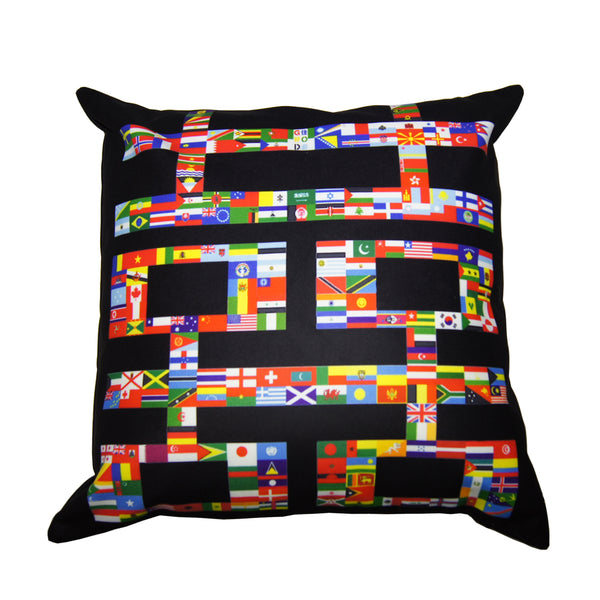 'Double Happiness Flags' cushion cover, Homeware, Goods of Desire, Goods of Desire