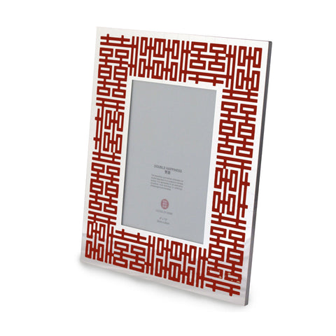 'Double Happiness' photo frame (red) - Goods of Desire