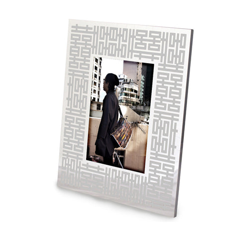 'Double Happiness' photo frame (silver), Homeware, Goods of Desire, Goods of Desire