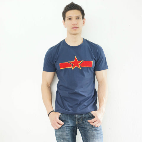 'Chinese Air Force' T-Shirt (Blue)
