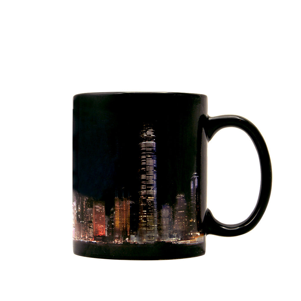 'A Symphony of Lights' heat sensitive mug