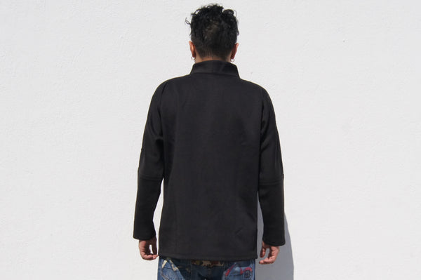 Chinese Buttons 4 pockets Jacket, Black