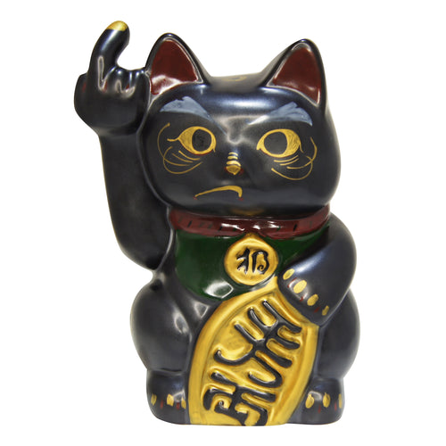 'Angry Cat' (large, black)
