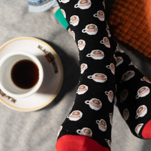 Load image into Gallery viewer, Playful Socks, Milk Tea