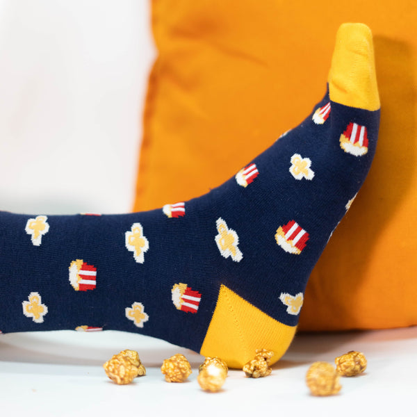 Playful Socks, Popcorn