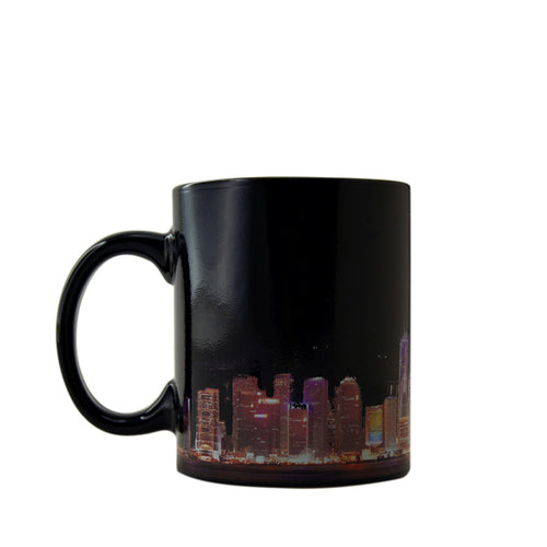'A Symphony of Lights' heat sensitive mug, Tabletop and Entertaining, Goods of Desire, Goods of Desire