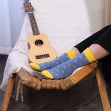 Playful Socks, French Toast