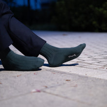 Load image into Gallery viewer, Playful Socks, Peacock Green