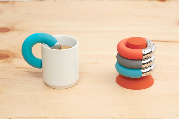 OMMO Torus tea infuser (4-pc set)
