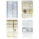 Door Iron Gate Bookmark Set