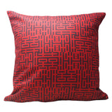 'Double Happiness' cushion cover (45 x 45 cm) - Goods of Desire