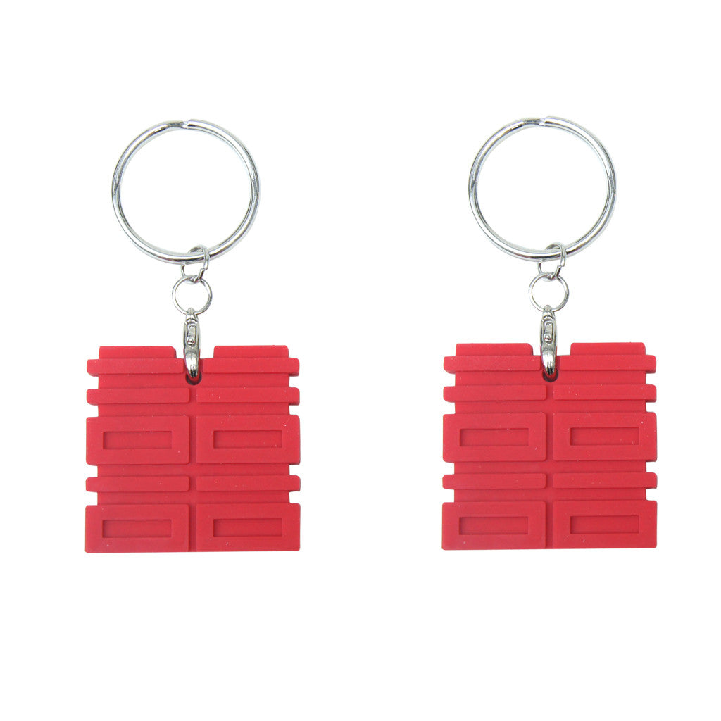 'Double Happiness' key caps / keychains, Stationary and the Workplace, Goods of Desire, Goods of Desire