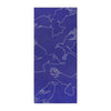 Quick Dry Sand Free Eco Beach Towel Black Kite, Deep Blue by RUPERT & BIRD