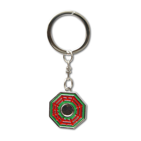 Eight Trigrams Mirror' keychain