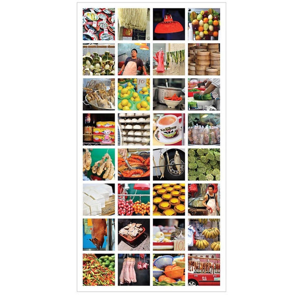 HK Street Lift Poster 50x100cm - Food