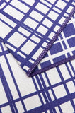 Quick Dry Sand Free Eco Beach Towel Fishing Lines, Deep Blue by RUPERT & BIRD