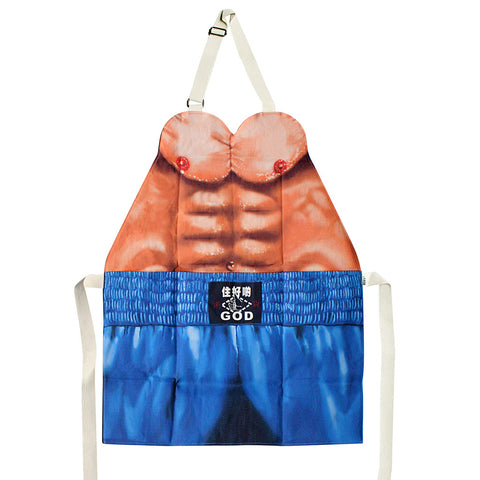 'Boxing Man' apron