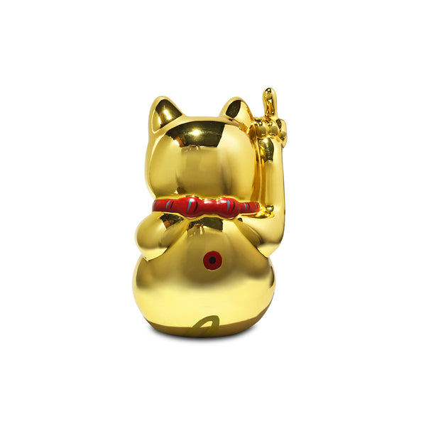 'POP! Angry Cat' (small, gold)