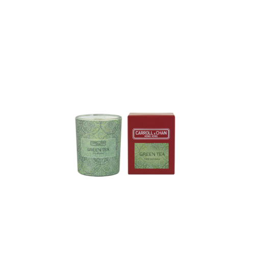 Green Tea Beeswax Votive Candle by Carroll&Chan