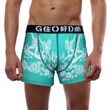 'Monkey' Teal boxer brief