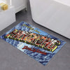 'Greetings from Hong Kong' bath mat