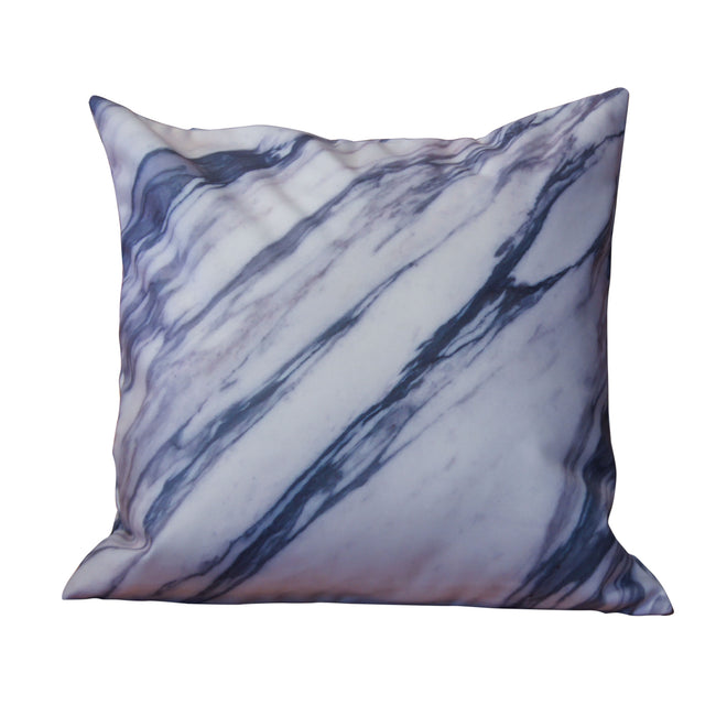 'HKG Marble' cushion cover (white, 45x45cm)