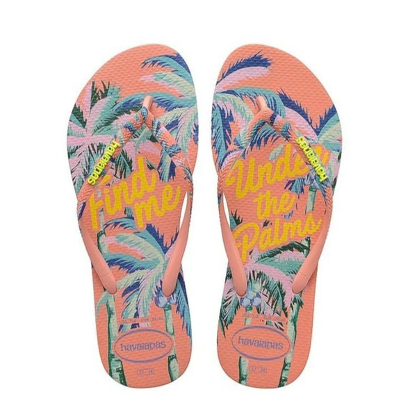 Havaianas Slim Summer, Silk Rose