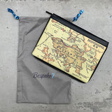 'Hong Kong Map' A4 Laptop Folio