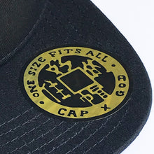 Load image into Gallery viewer, 'HK' 3D Baseball Cap, White