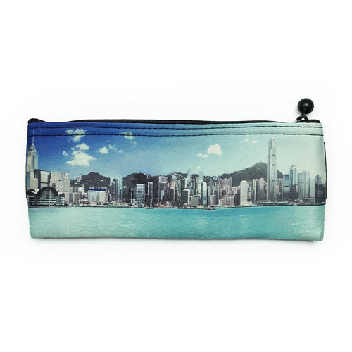 'HK Skyline' Pencil Case Bookmark