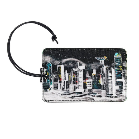 'Hong Kong - HKG' luggage tag