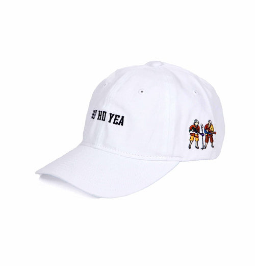 Carnaby Fair 'Ho Ho Yea' Dad Cap (White)