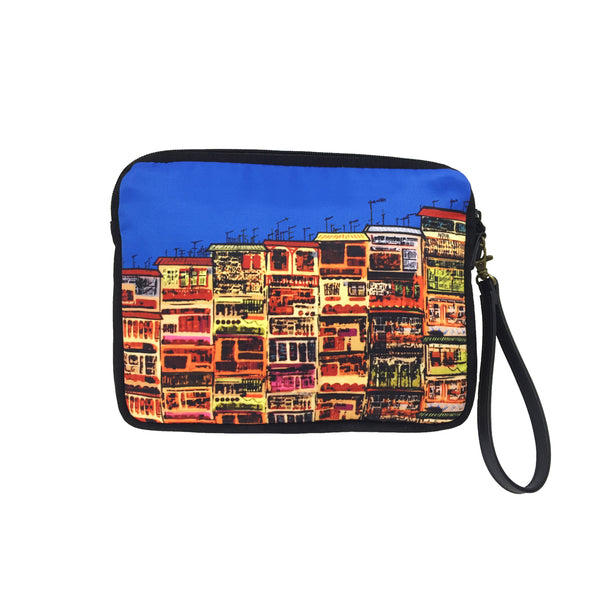 'Alex Croft x G.O.D. graffiti wall' carryall travel pouch, Luggage & Travel, Goods of Desire, Goods of Desire