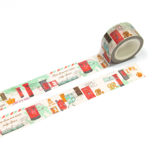 ZiGaauDaai decorative masking tape (HK Posting Boxes)