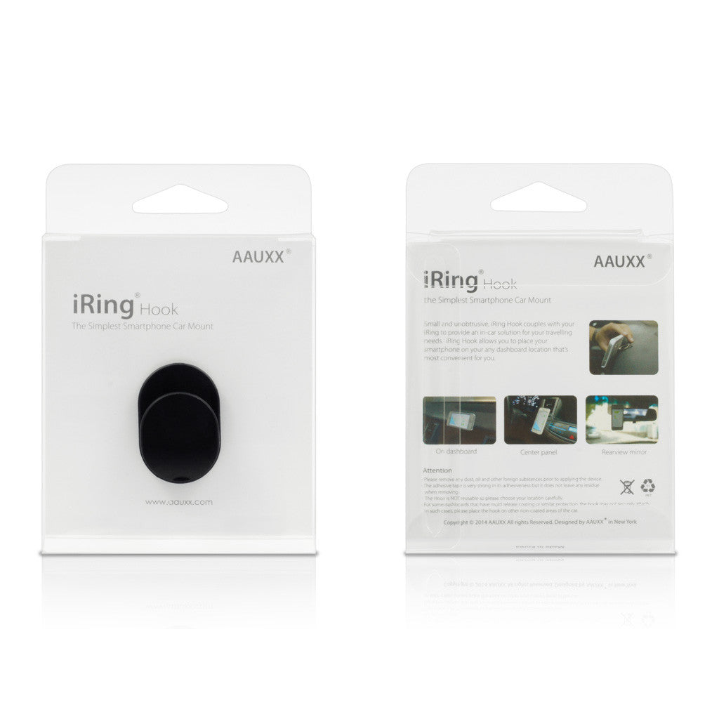 Iring Hook Black Ring Stand